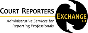Court Reporters Exchange Retina Logo